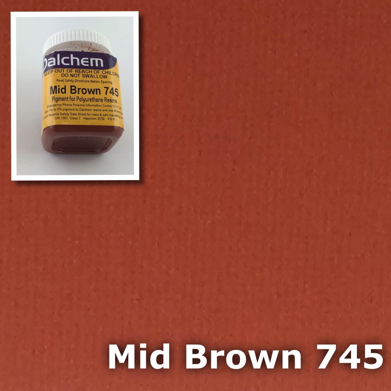 Polyurethane Pigment BROWN 745 100g