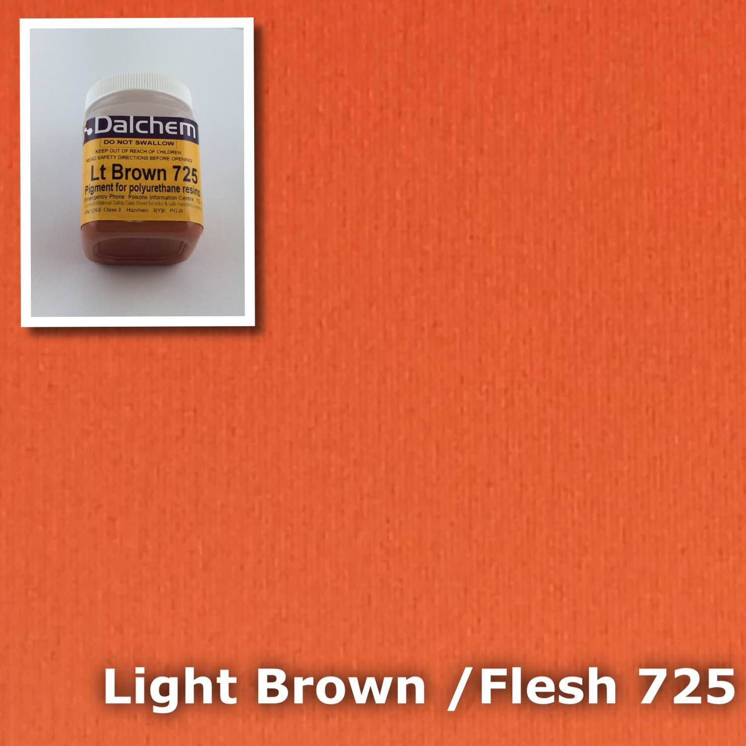 Polyurethane Pigment BROWN FLESH 725 100g