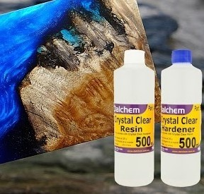 Crystal Clear Epoxy Resin Kit