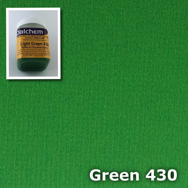 Polyurethane Pigment GREEN430 50g