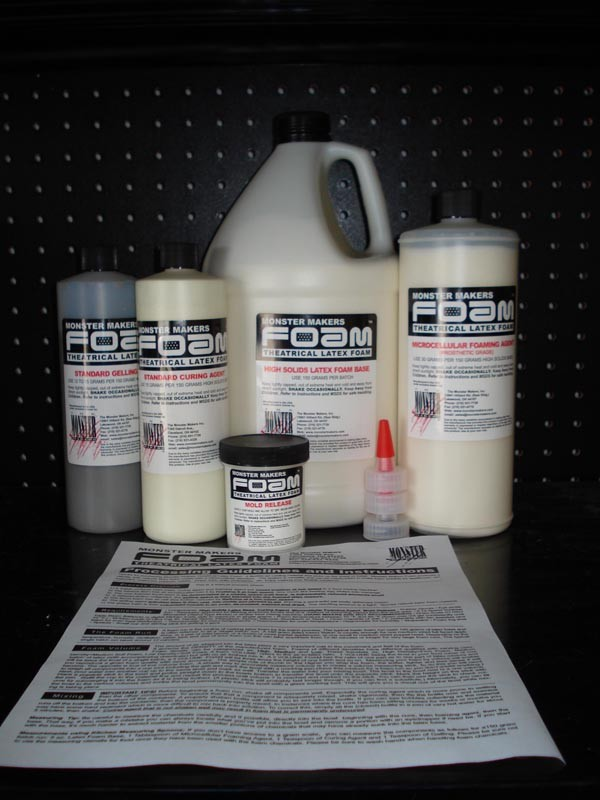 Monster Maker Foam Latex Kit (5Gal)
