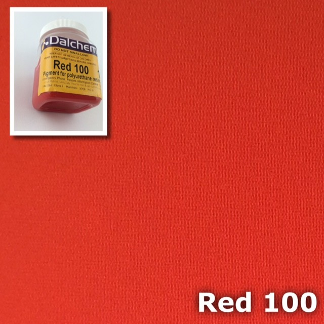 Polyurethane Pigment RED100 50g