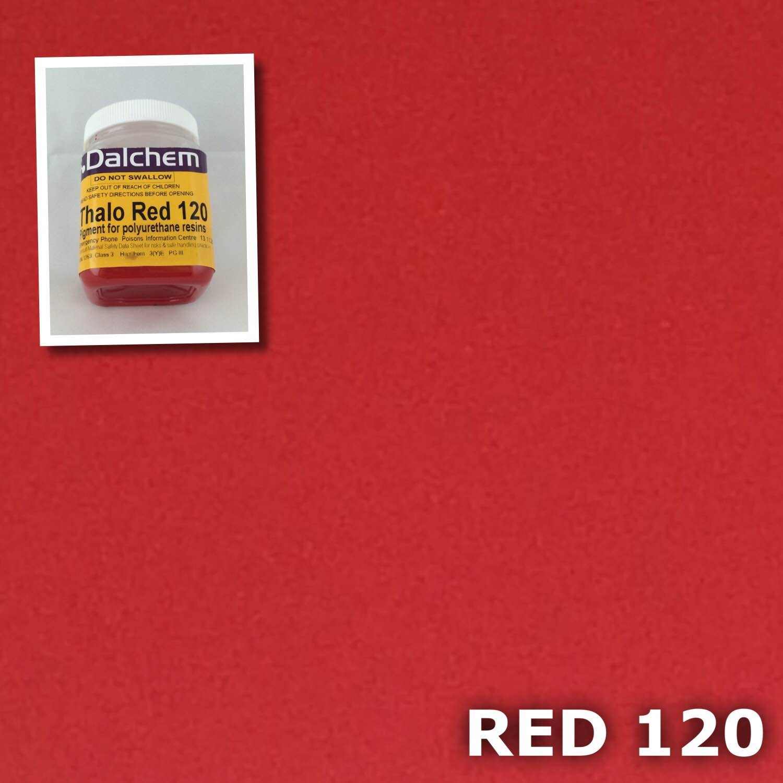 polyurethane pigment red 120 100g