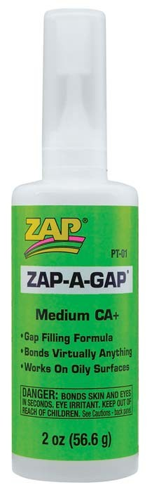 Zap-A-Gap 2oz (Green) Super Glue