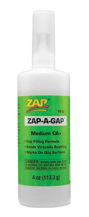 Zap-A-Gap 4oz (Green)  Super Glue