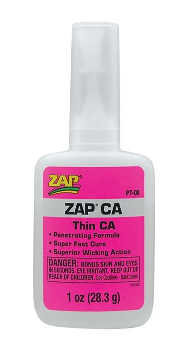 Zap CA 1oz (Pink) Super Glue