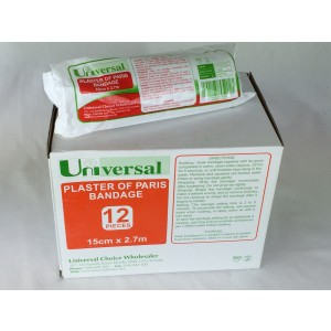 Plaster Bandage BOX 12 Rolls