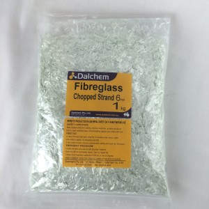 Chopped Strand Fibreglass 6mm 1kg